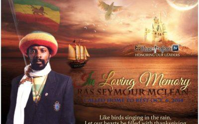 Tribute to Ras Seymour McLean The Book Liberator