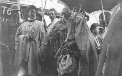 Coronation of Empress Menen