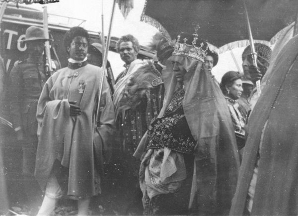 Coronation of Empress Menen