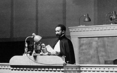 Speech: Haile Selassie 1st The League of Nations General Assembly, Geneva, Switzerland-1936